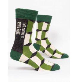 BQ Mens Sassy Socks - Meeting