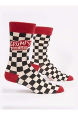 BQ Mens Sassy Socks - Grumpy Old Man