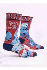 BQ Mens Sassy Socks - Cat Dude