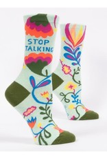 BQ Sassy Socks - Stop Talking