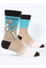 BQ Mens Sassy Socks - Mr. Perfect