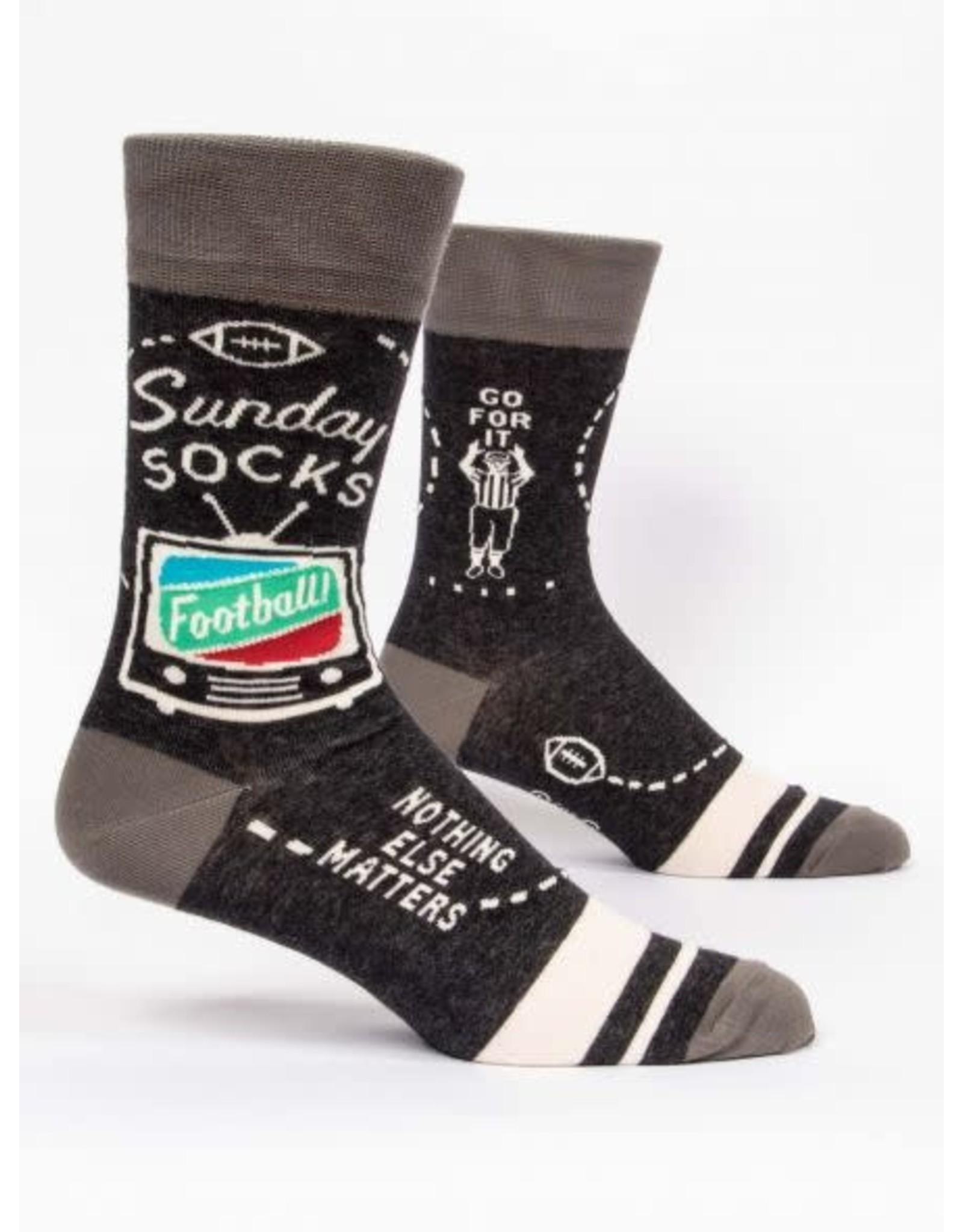 BQ Mens Sassy Socks - Sunday