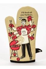BQ Oven Mitt - Feed all you
