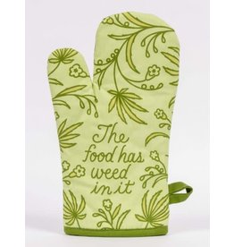 BQ Oven Mitt - Food Has Weed