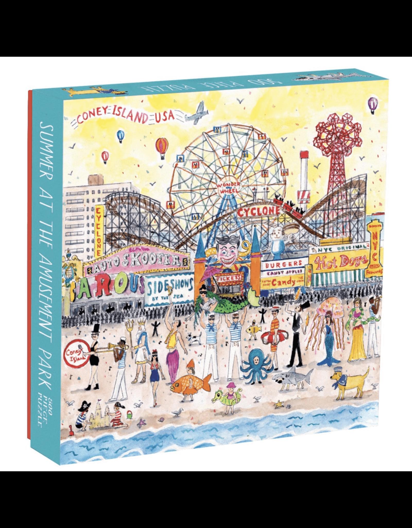 Summer at the Amusement Park 500 Piece Puzzle