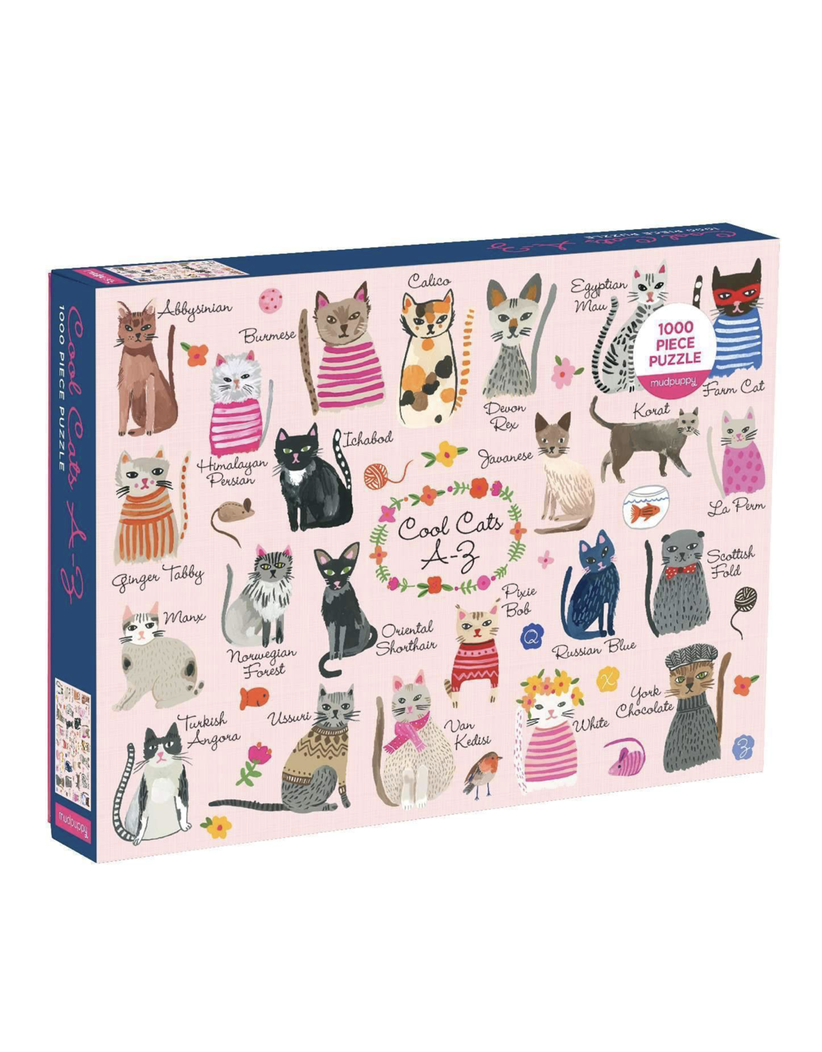 Cool Cats A-Z Puzzle