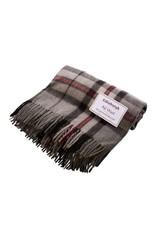 Highland Wool Throw - Thomson Grey