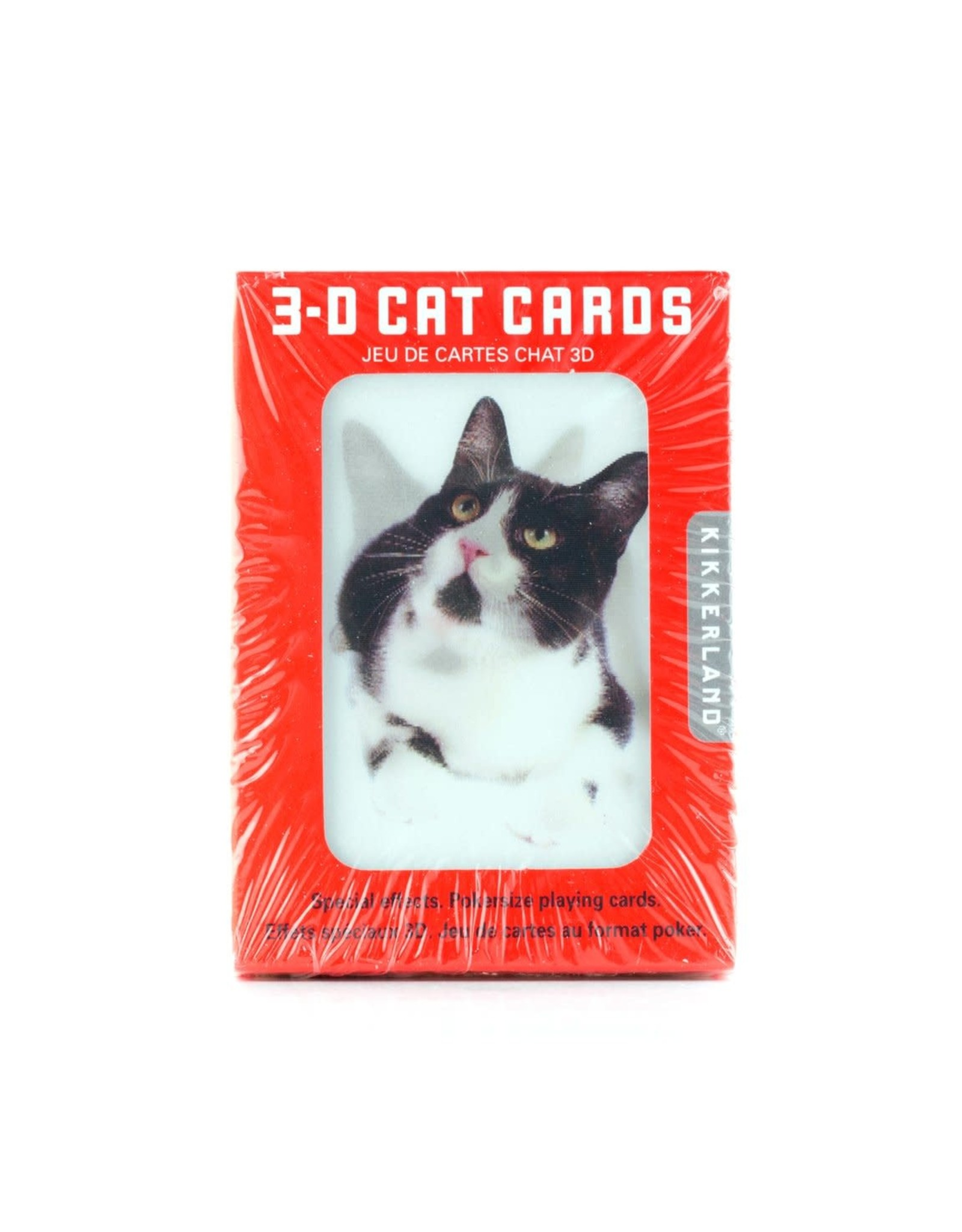 Cats 3D Playing Cards
