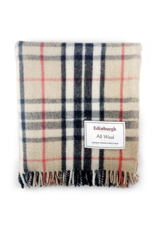 Highland Wool Throw - Thomson Camel