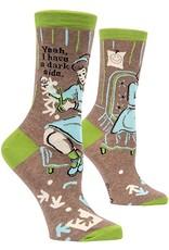 BQ Sassy Socks - Dark Side