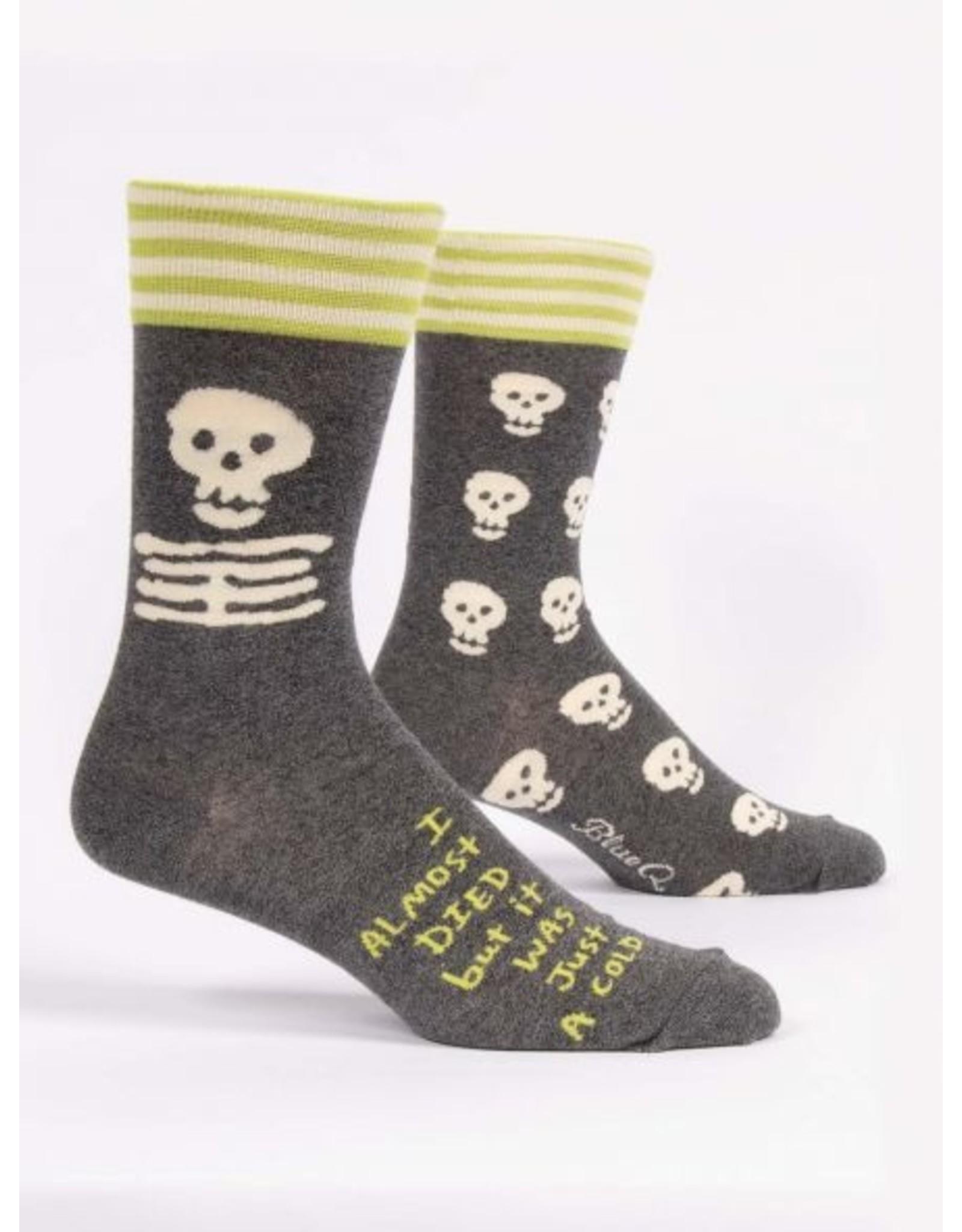 BQ Mens Sassy Socks - Almost Died