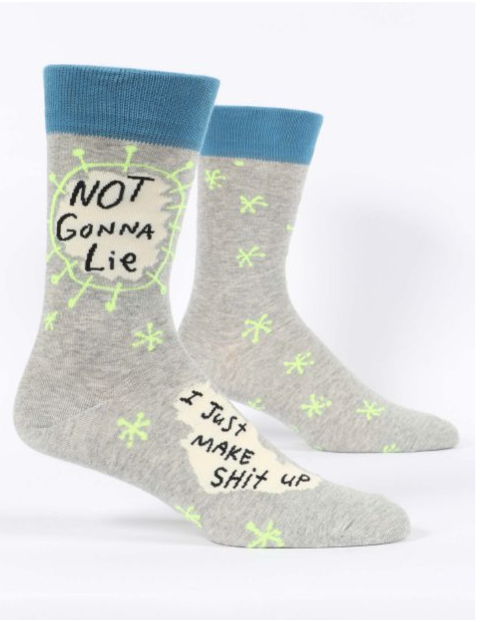 BQ Mens Sassy Socks - Not Gonna Lie