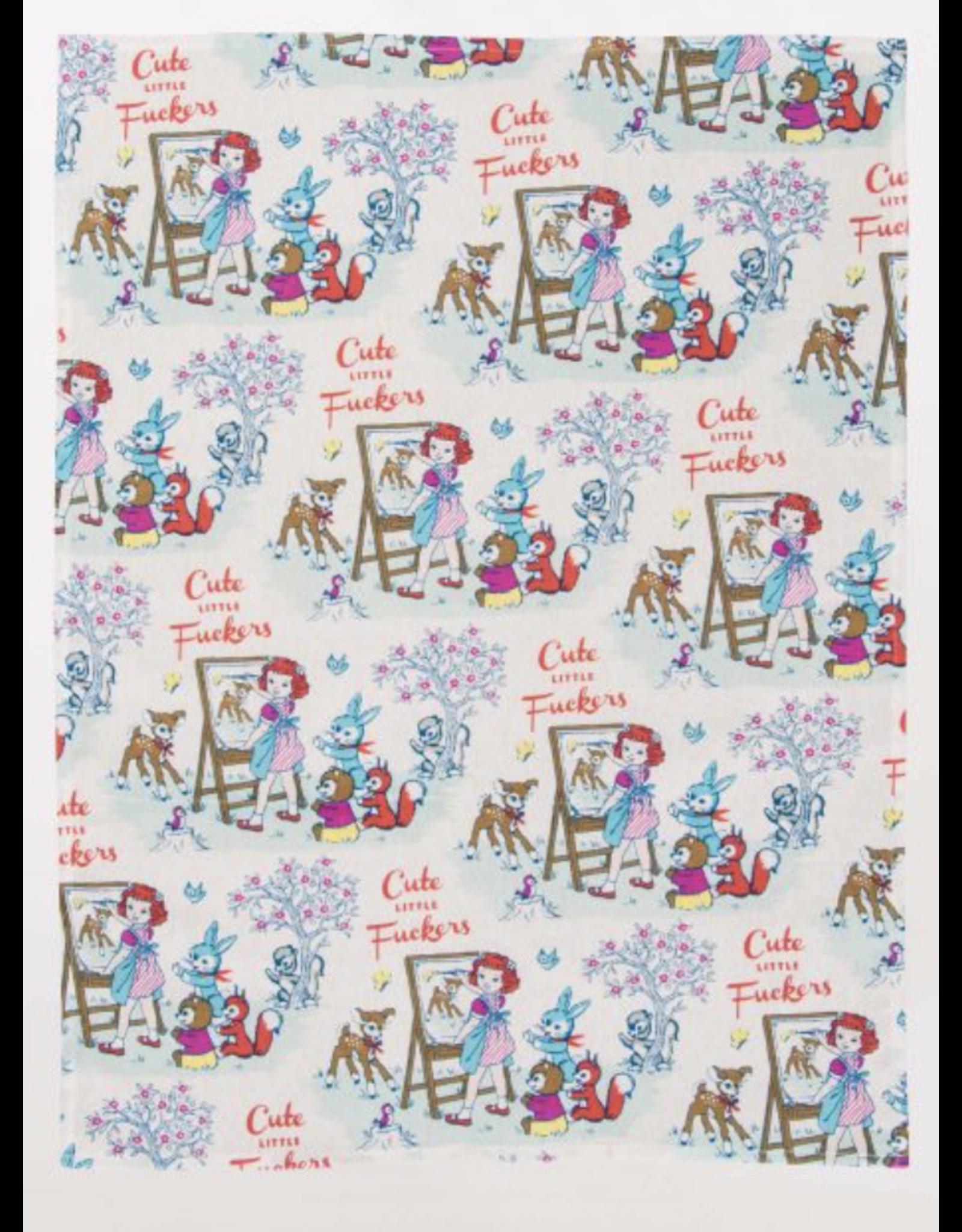 BQ Dish Towel - Cute Little