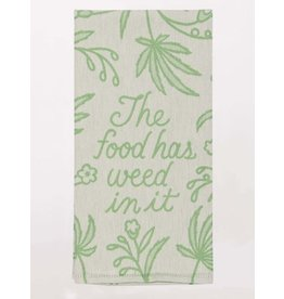 BQ Dish Towel - Food has Weed