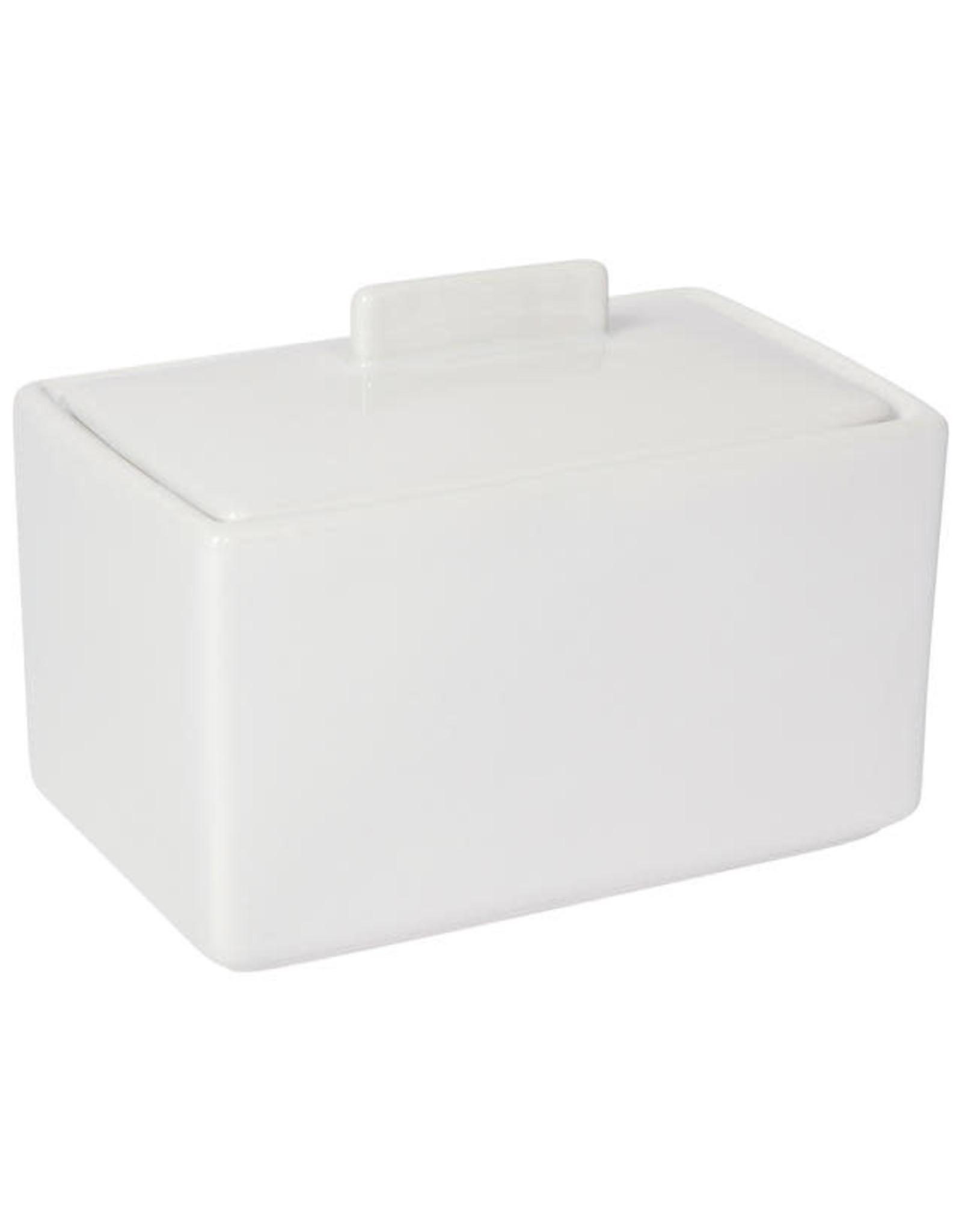 1lb Butter Dish White