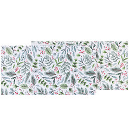 Bough & Berry Table Runner 72""