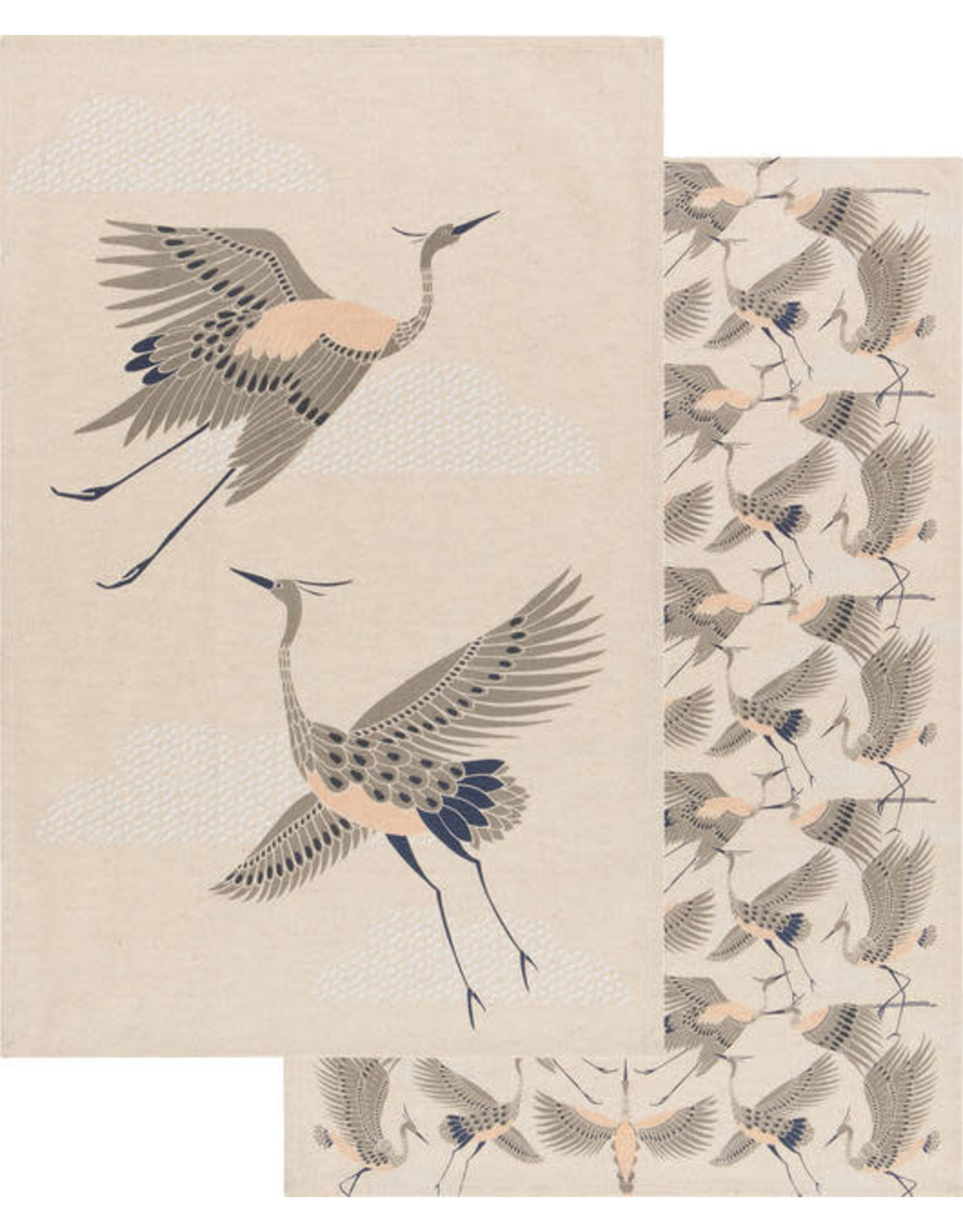 Tea Towels   Set of  2 Flight of Fancy