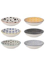 Bits & Dots Pinch Bowl Set of 6 - Multi