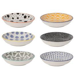 Pinch Bowl Set/6 Bits & Dots