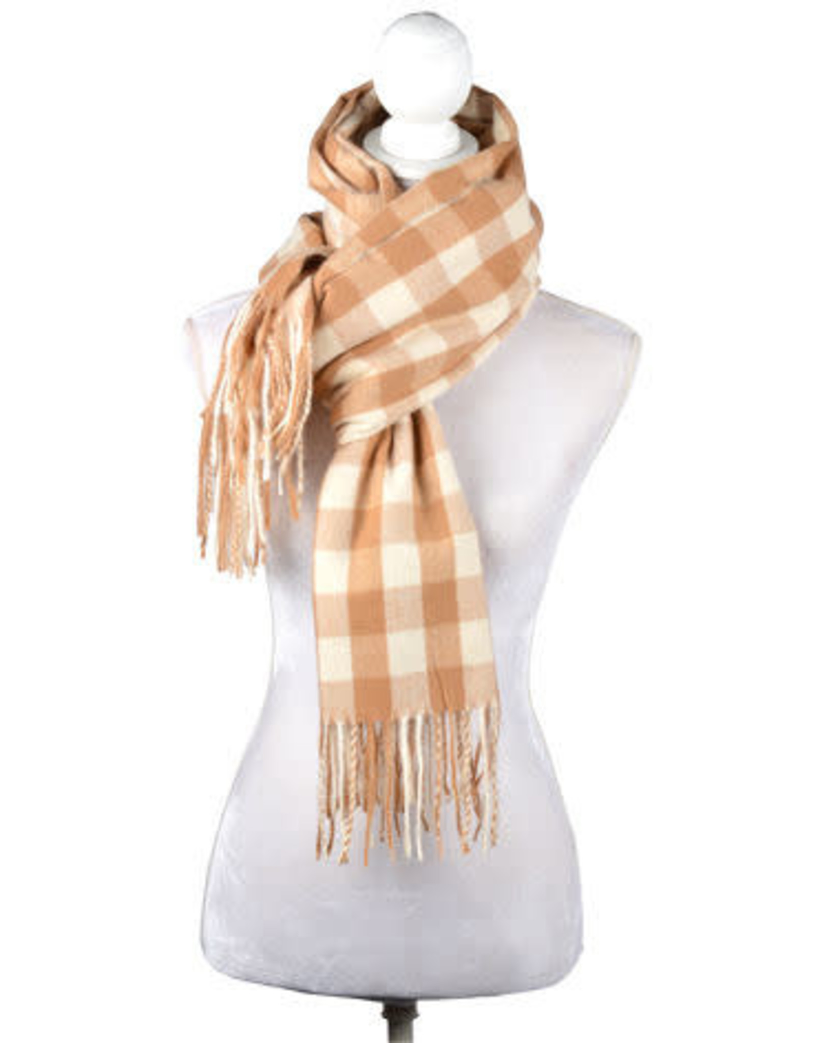 Catherine Lillywhite's Buffalo Check Scarf