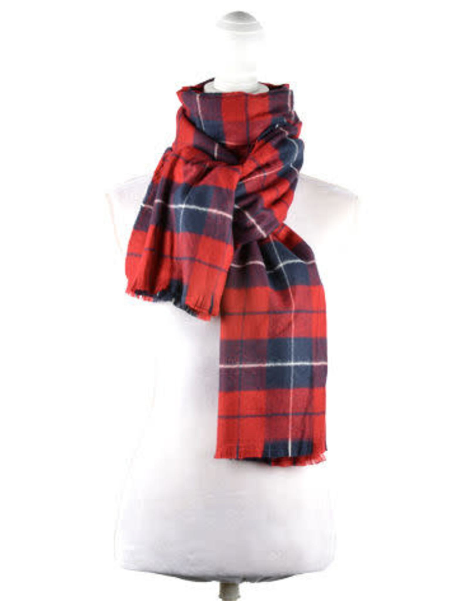 Catherine Lillywhite's Plaid Scarf