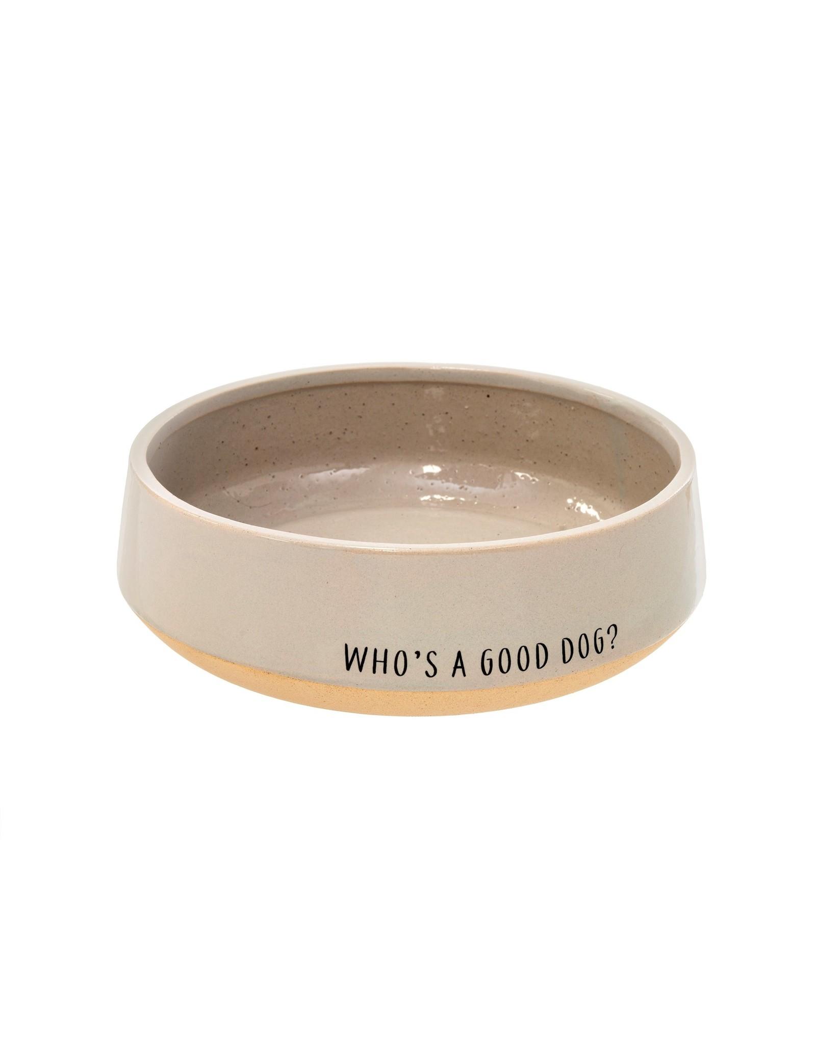 Who's A Good Dog Bowl