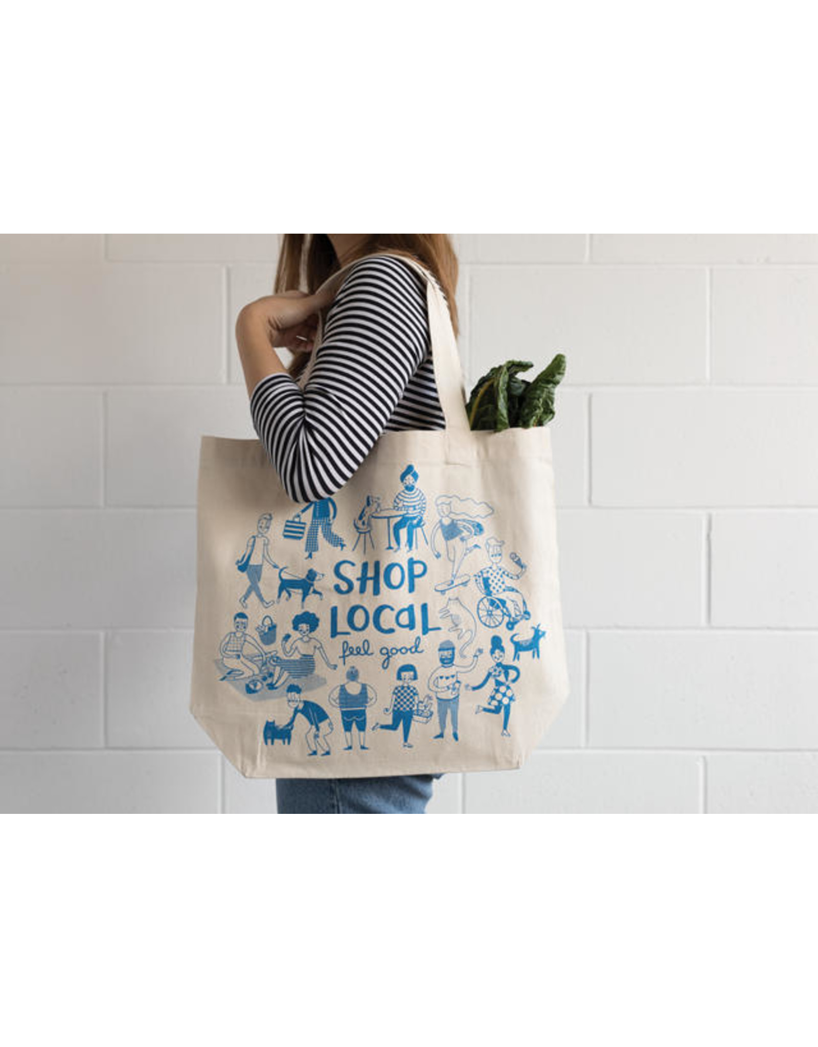 Shop Local Tote Bag