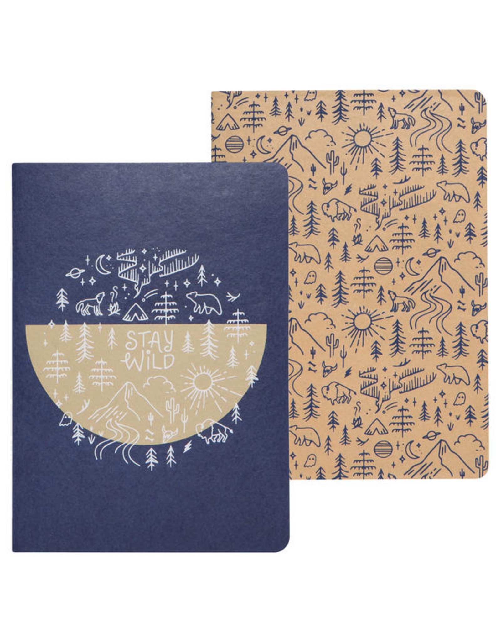 Stay Wild Notebook Set/2
