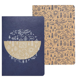 Stay Wild Notebook Set/2