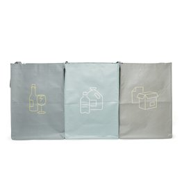 Recycling Station (Set of 3)