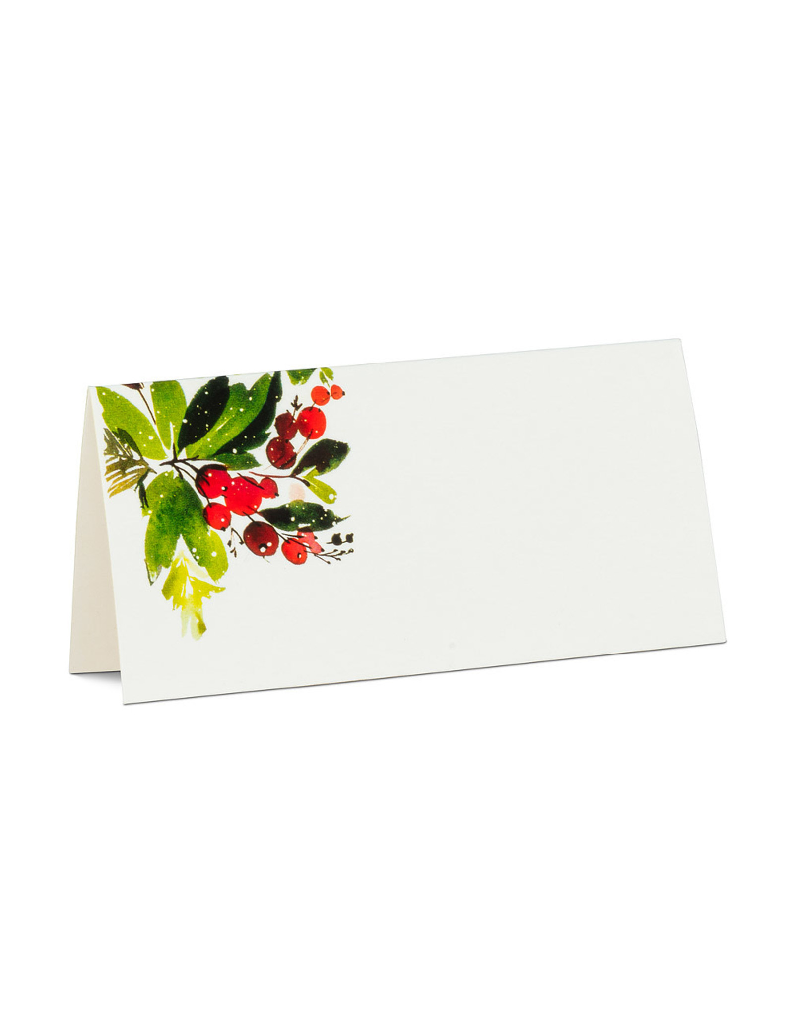 Cranberry Folded Placecards - 12pk