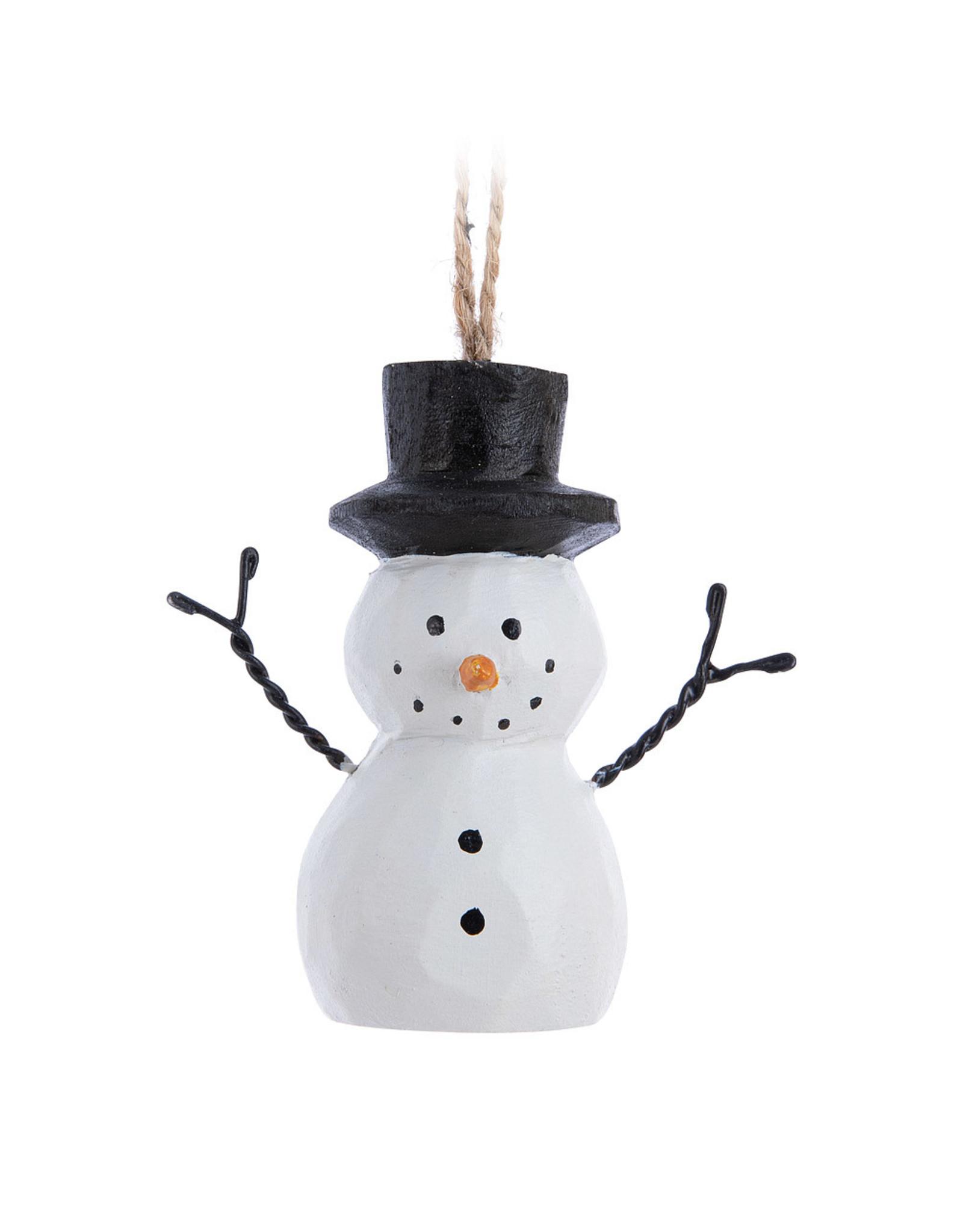 Classic Snowman Ornament
