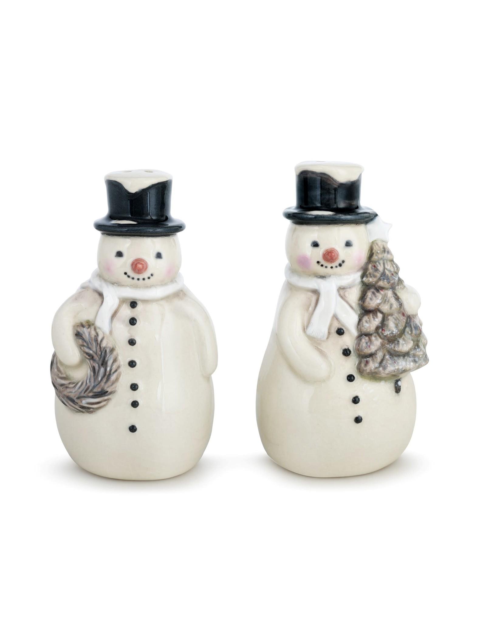 Snowman Salt & Pepper Set