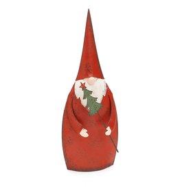 "Iron Santa w Tree - 10"""