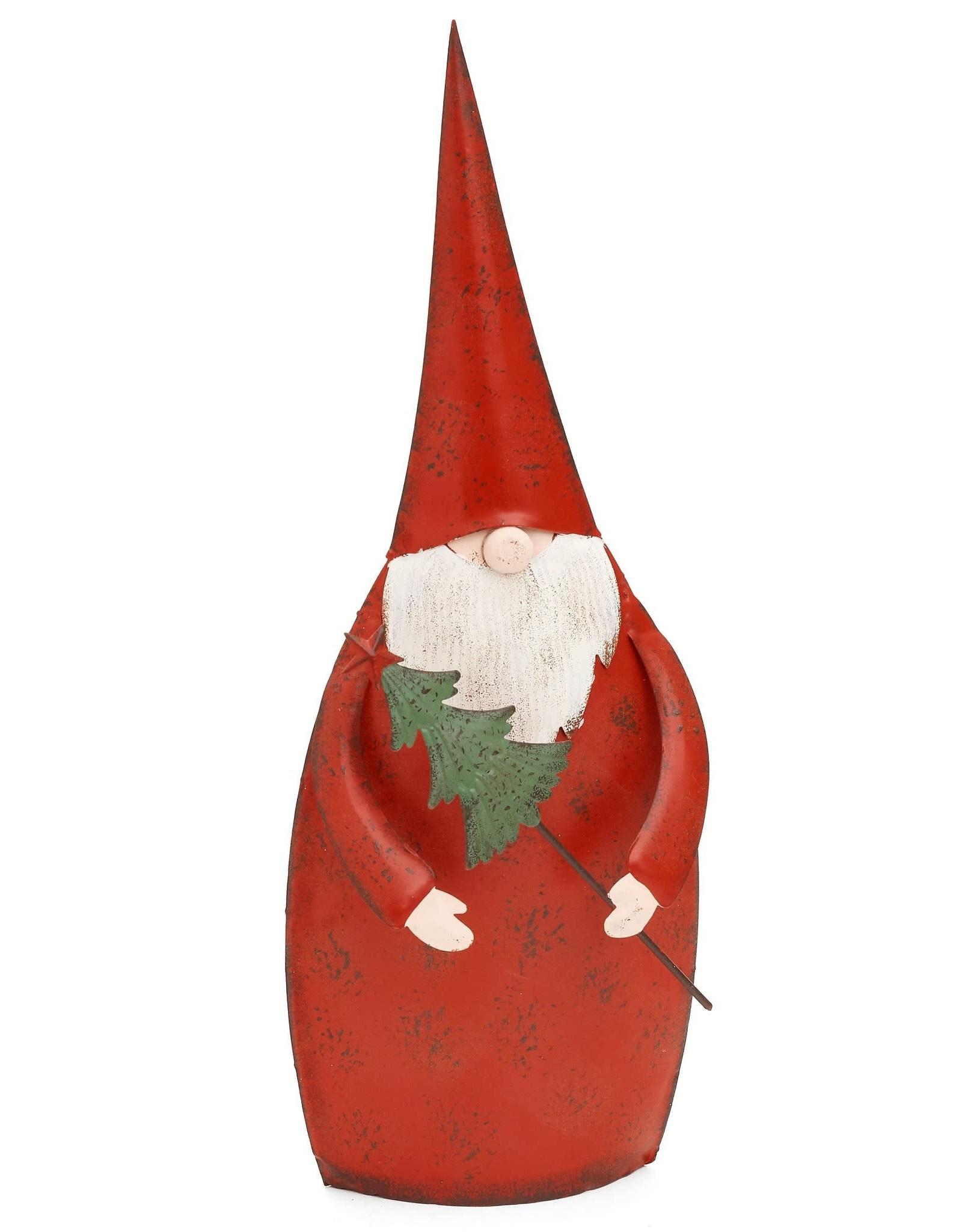 "Iron Santa w Tree - 13"""