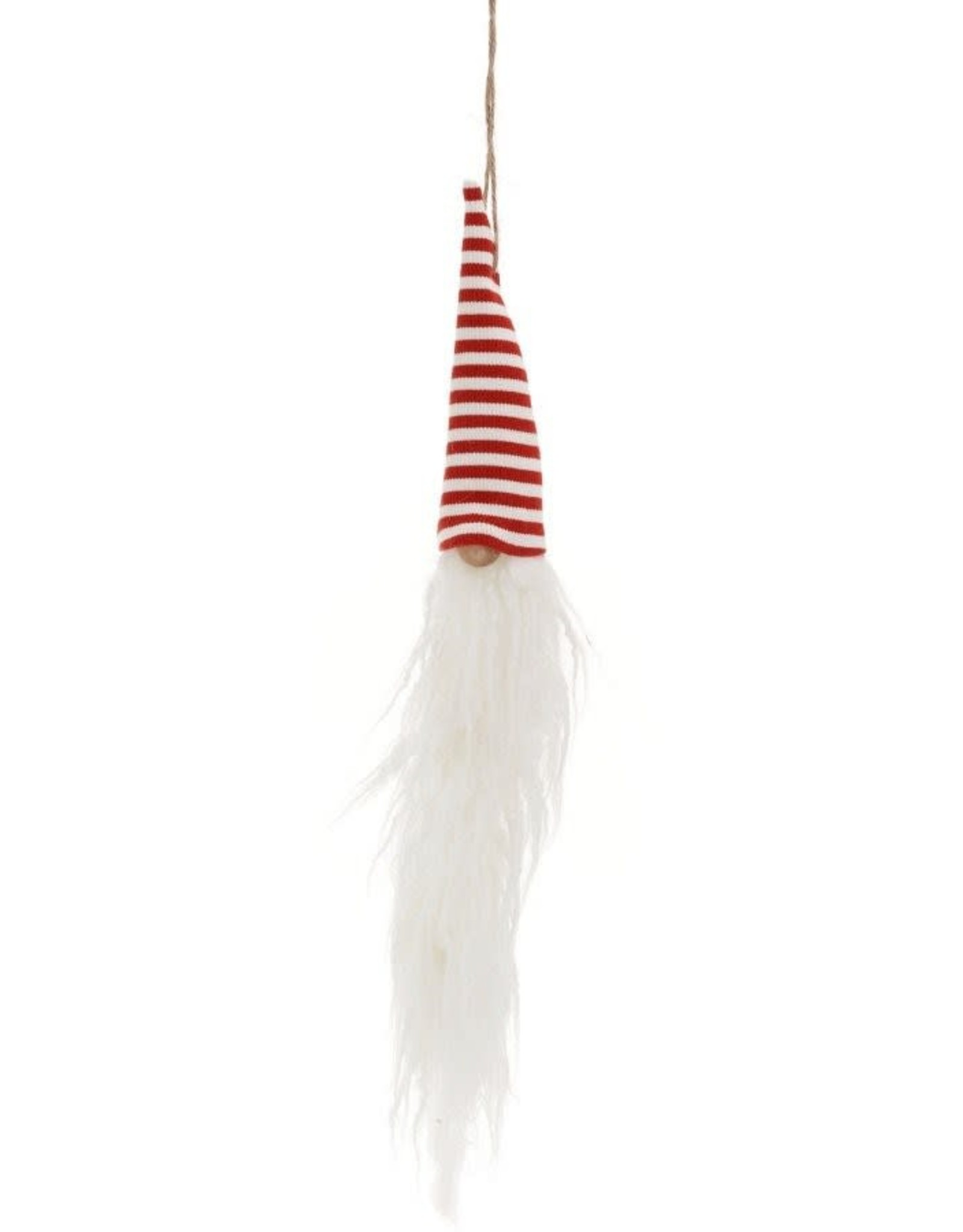 Striped Santa Head Orn