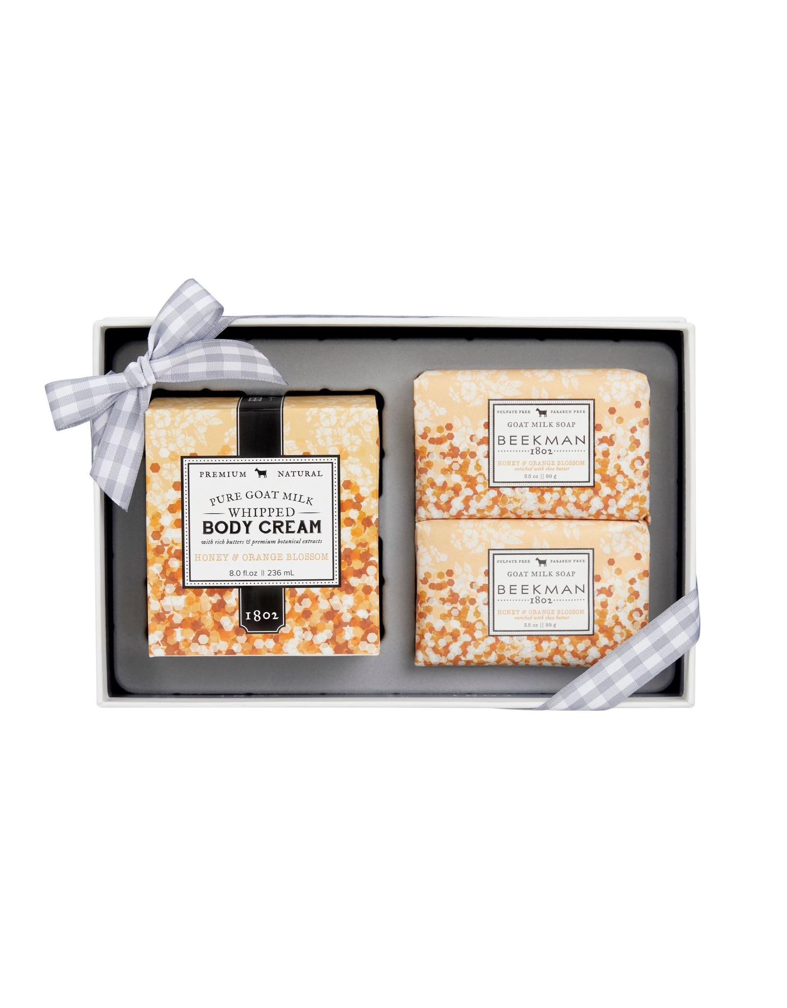 Honey & Orange Blossom Whipped Body Cream  & Soap(2) Sampler