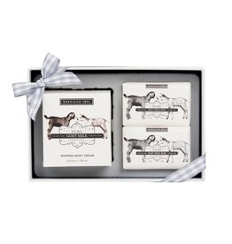 Pure Goat Milk Whipped Body Cream & Soap (2) Sampler