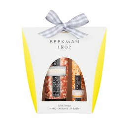 Honey & Orange Blossom Hand Cream & Lip Balm Set