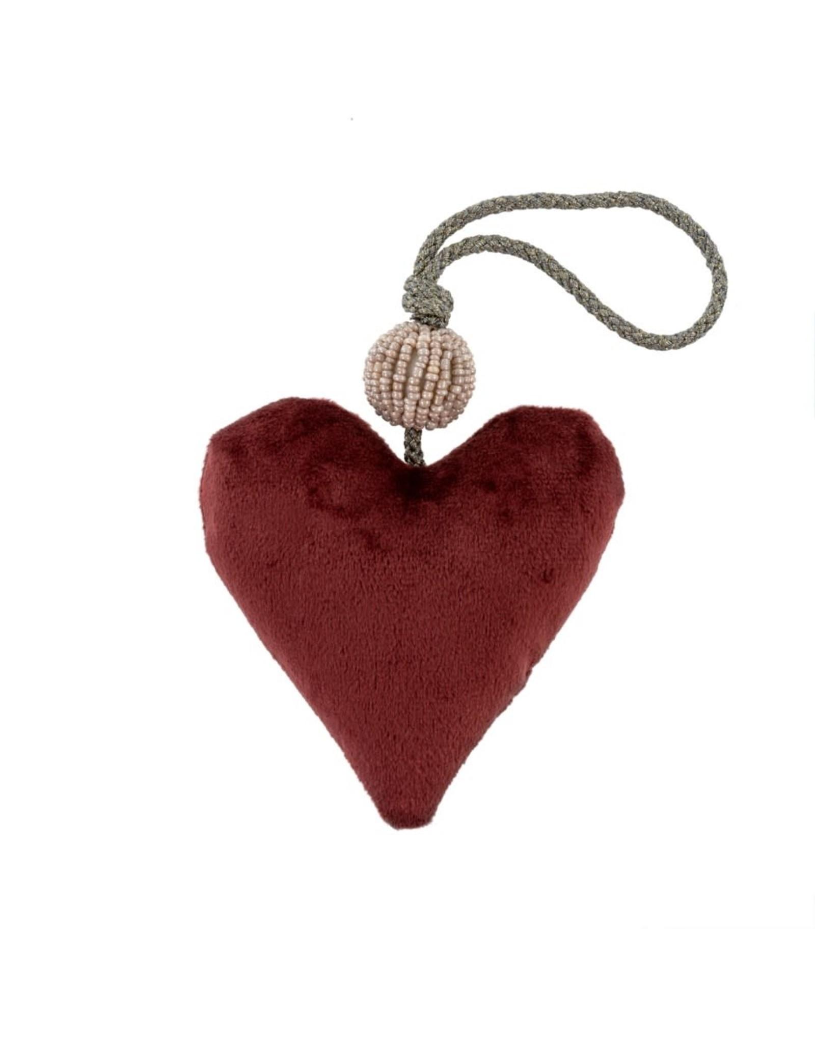 Velvet Heart Burgundy