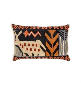 Folk Art Cushion, 16x24