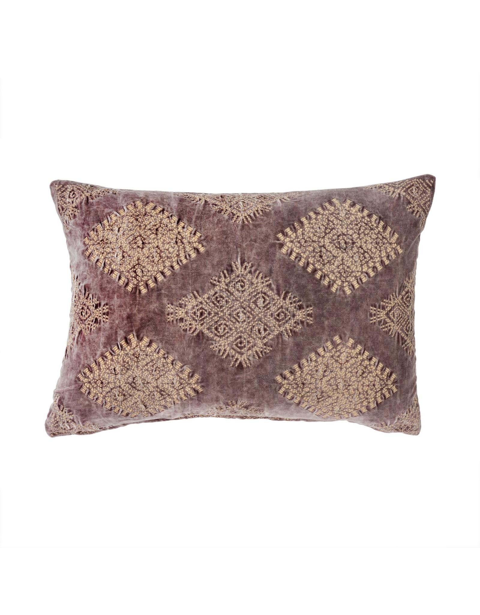 Vivi Velvet Cushion - Purple