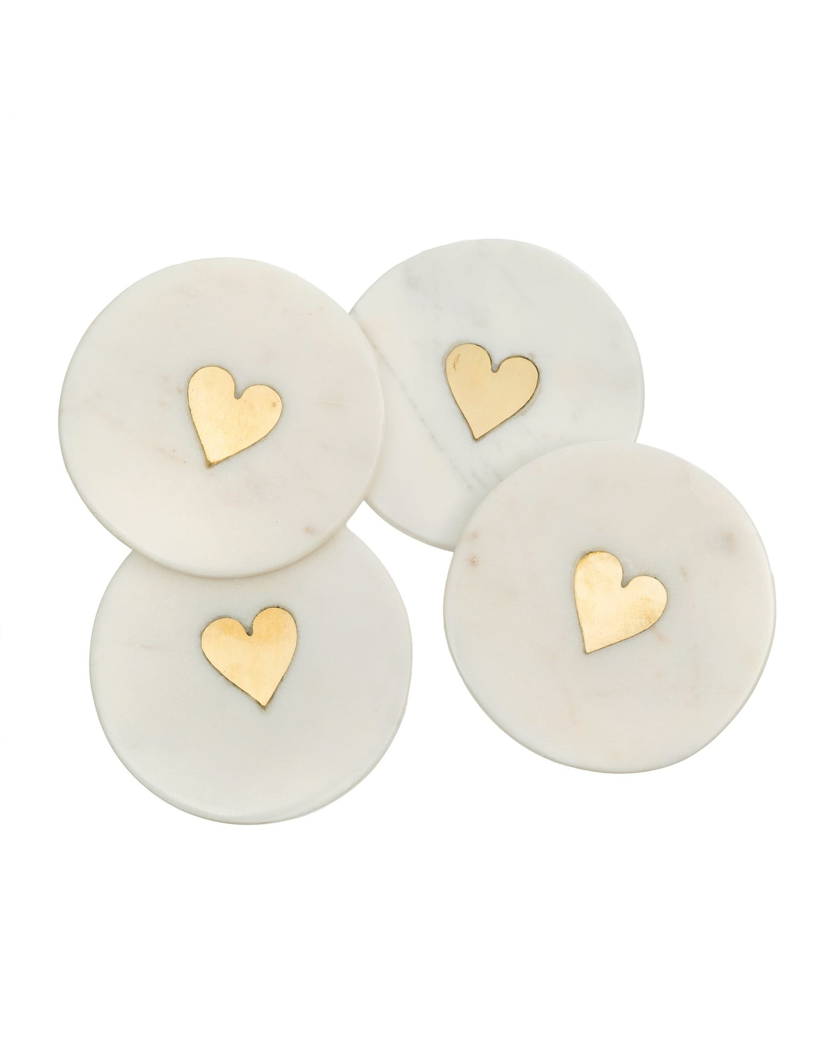 Sweet Heart Coasters S/4