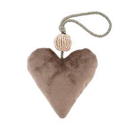 Velvet Heart Grey