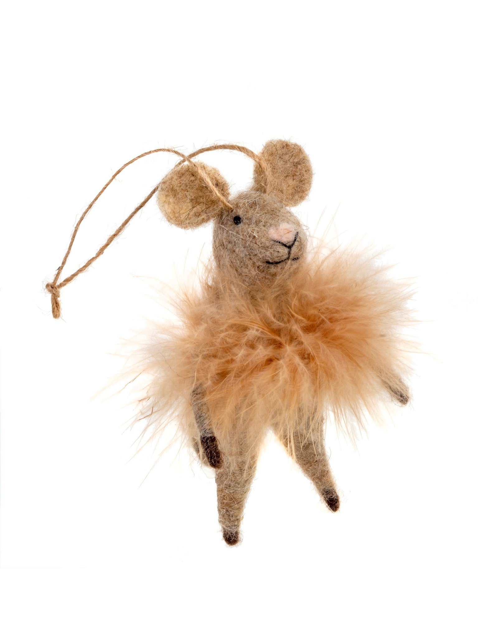 Fluffy Farah Ornament