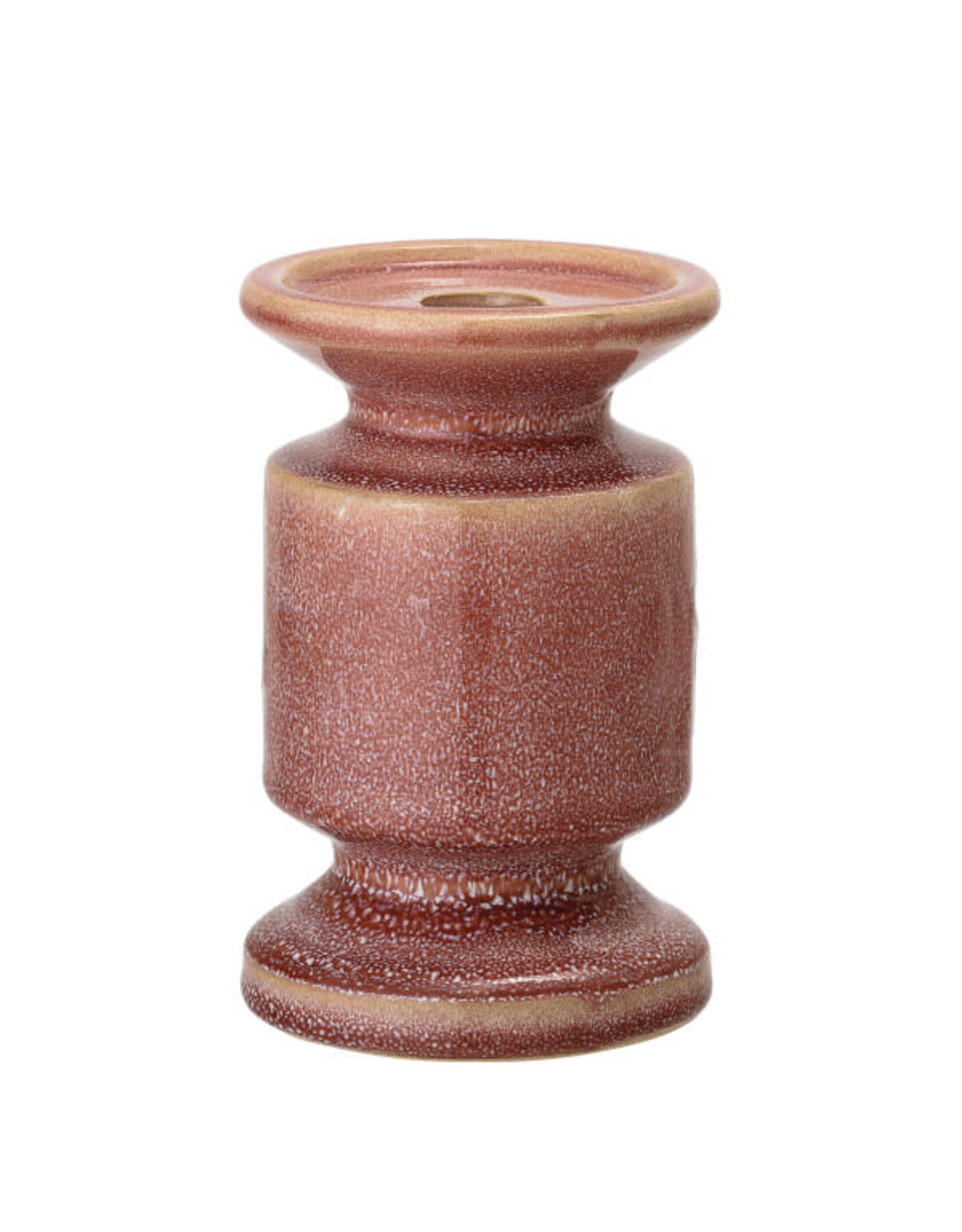 Taper/Pillar Holder Rose Reactive Glaze