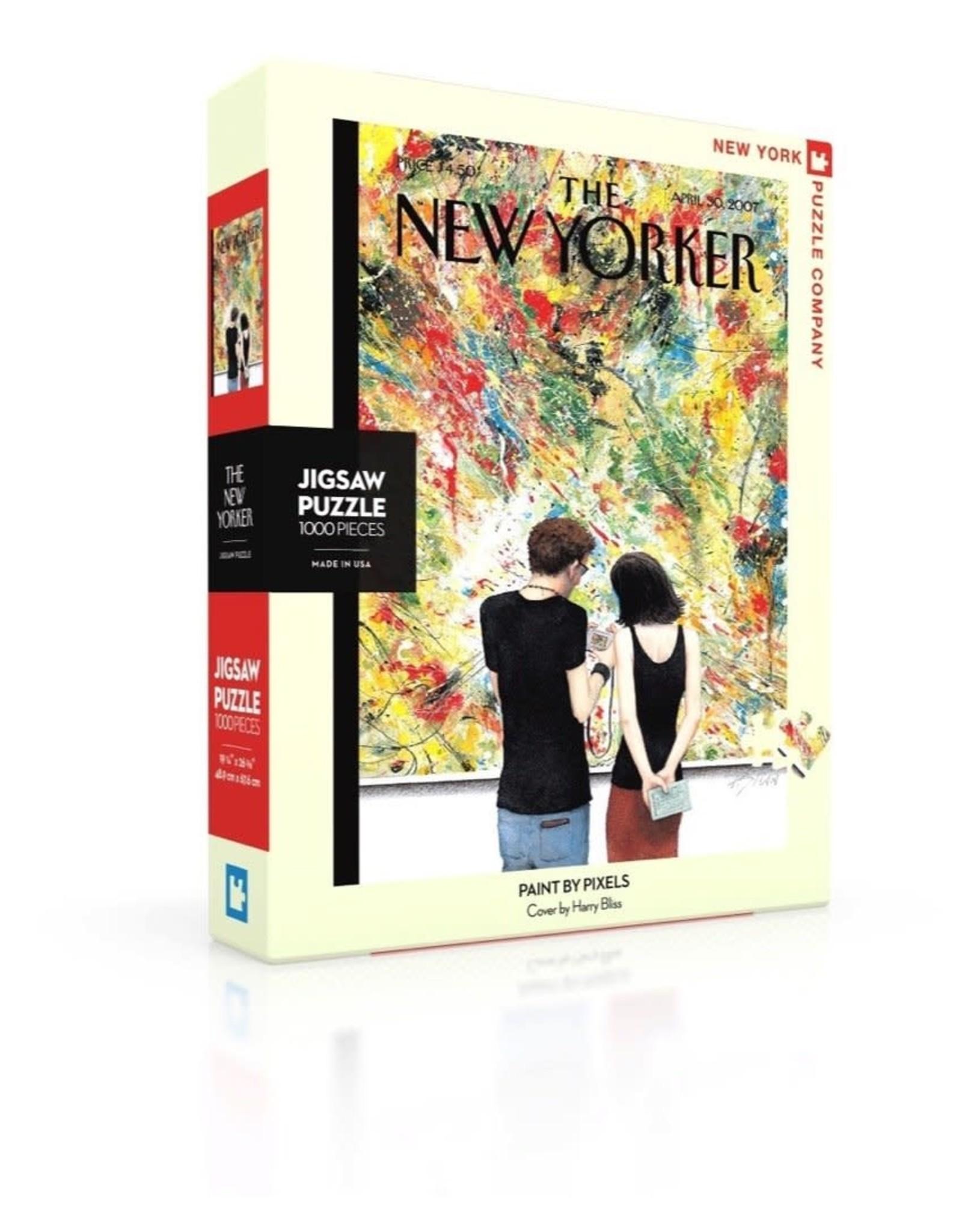 New Yorker Puzzle - Paint By Pixels