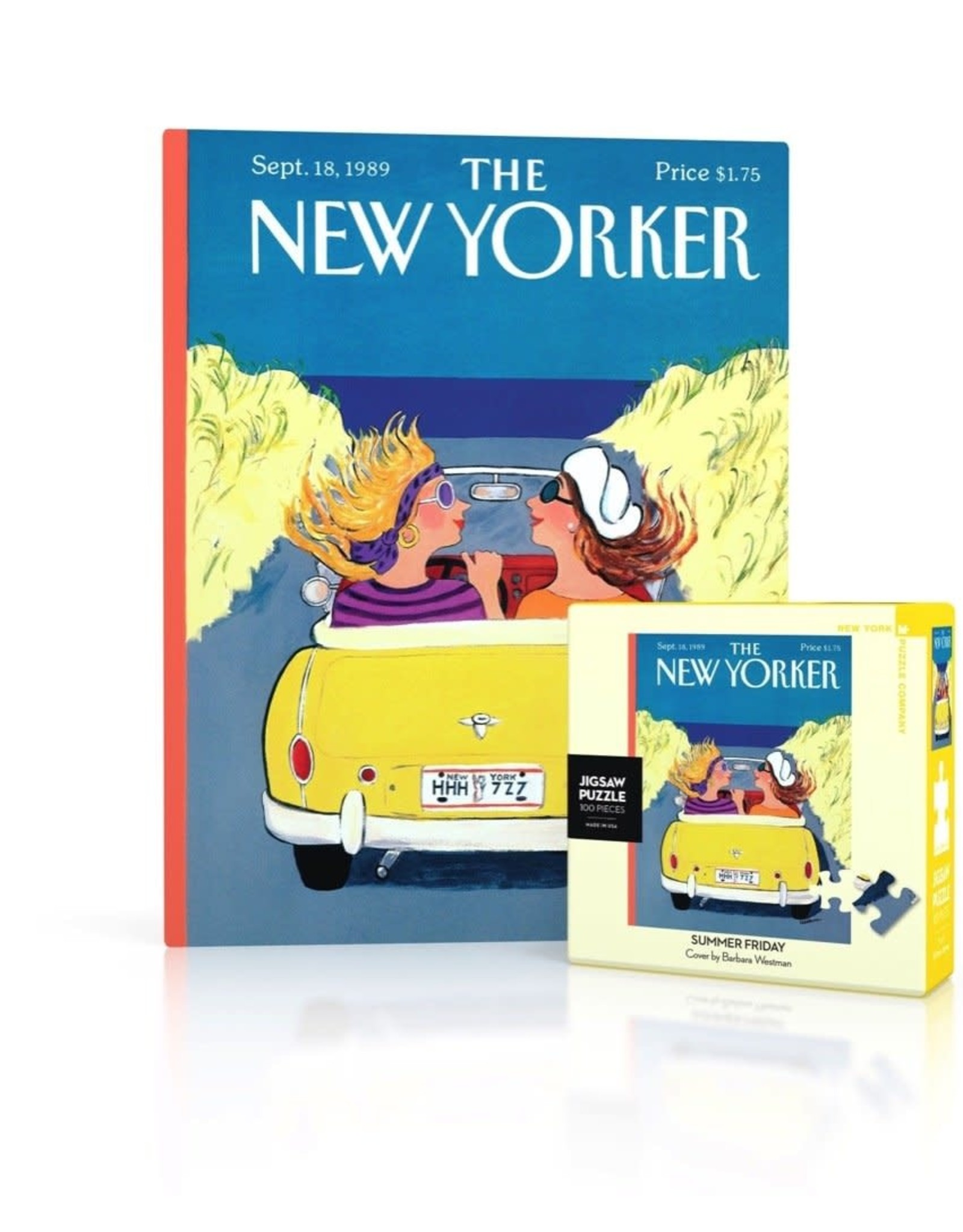 New Yorker Mini Puzzle - Summer Friday