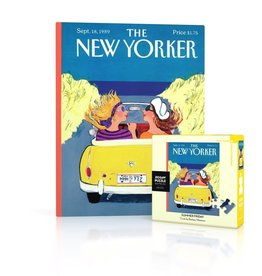 New Yorker Mini Puzzle - Summer Friday 100 Pieces