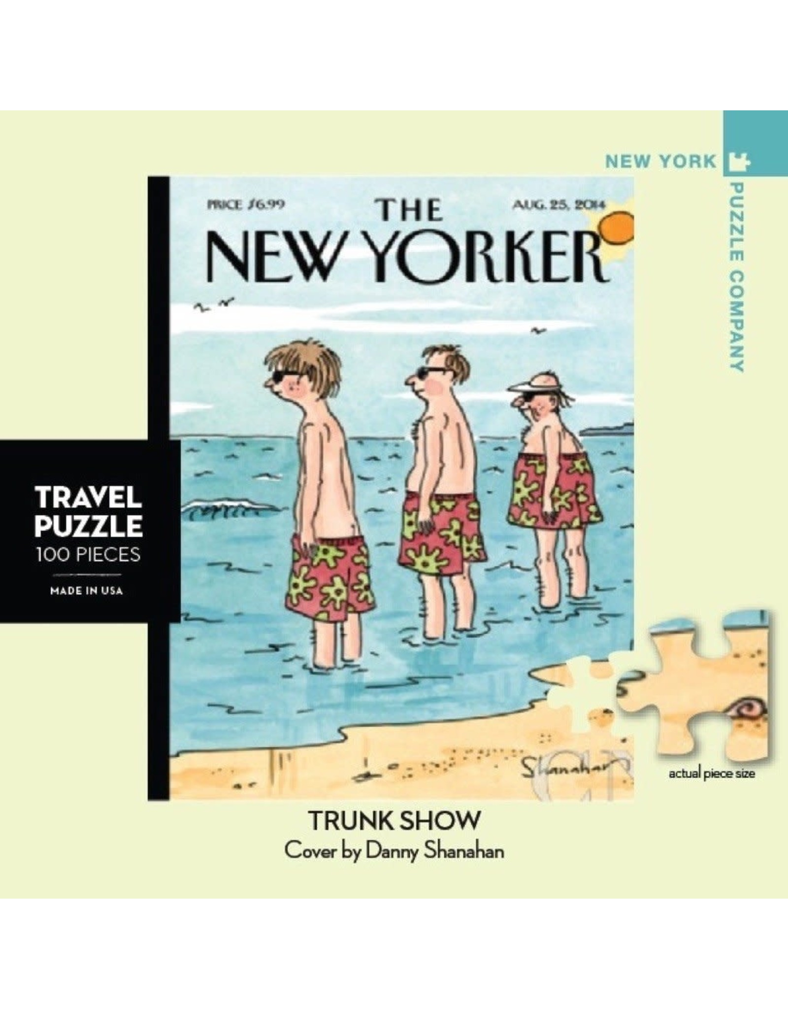 New Yorker Mini Puzzle - Trunk Show 100 Pieces